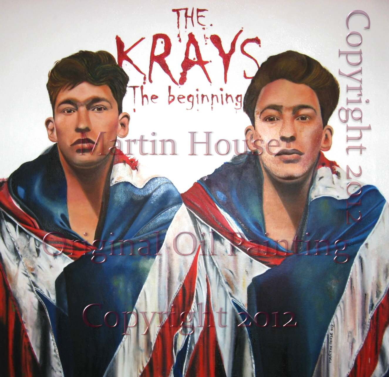 The Krays Oil Painting