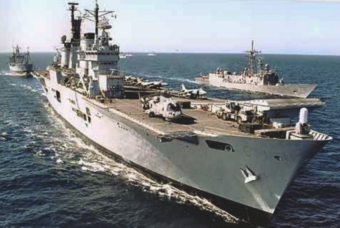 Aircraft carrier, the Ark Royal, Royal Navy