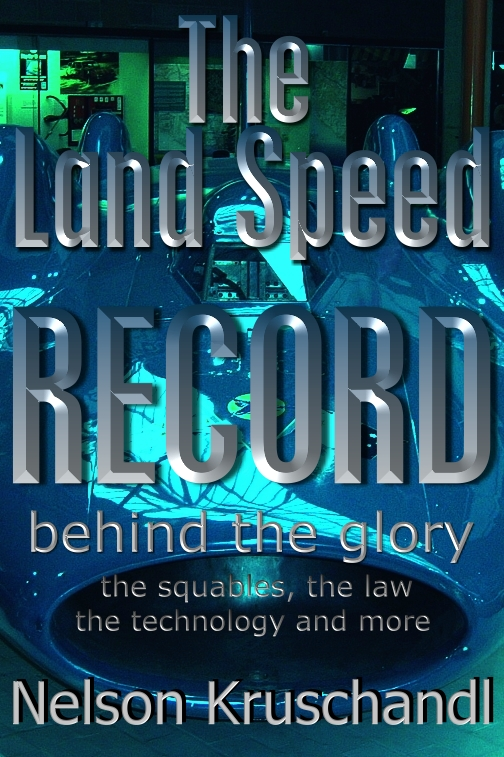 The battery electric world land speed record project, blue bird logo trademarks and technology passing off history book