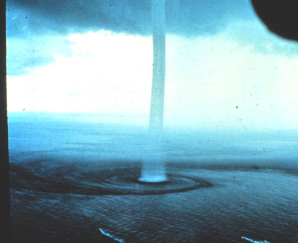 A waterspout near the Florida Keys