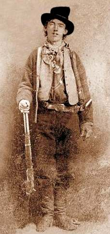a biography of billy the kid and his outlaw in american history Rare photograph of billy the kid found at a experts now believe that one of the men in the image is famed outlaw billy the kid american history crime.