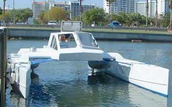 Kurt Hughes catamaran design