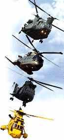 Royal Air Force helicopters RAF