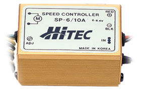 Hitec digital 6-10 amp speed controller