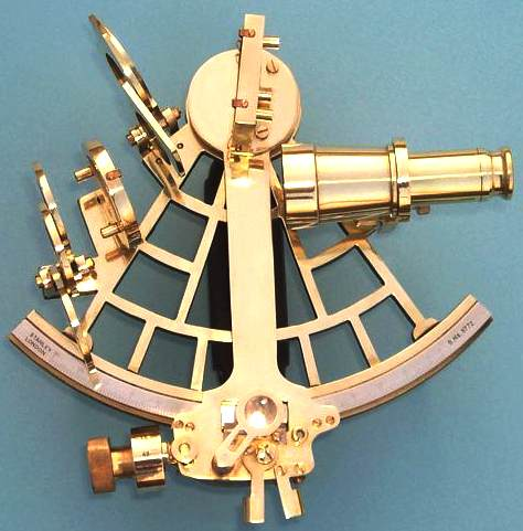 Navigational sextant, an important nautical instrument
