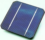Crystaline solar cell single