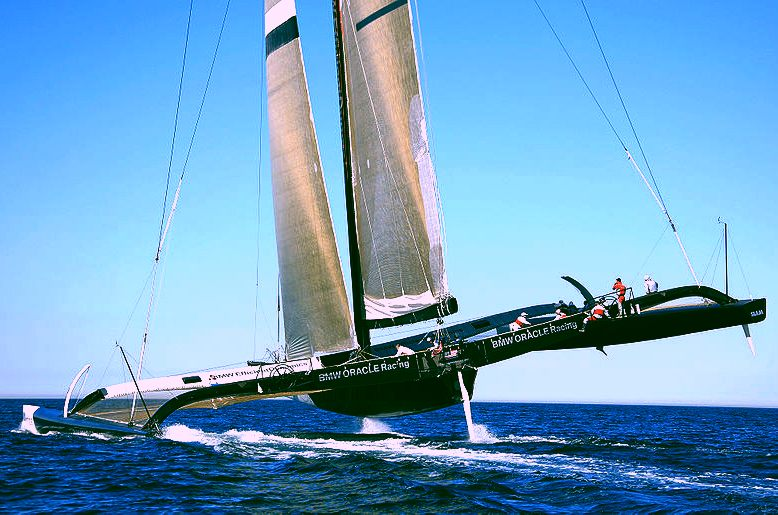 BMW sponsored Oracle Racing trimaran