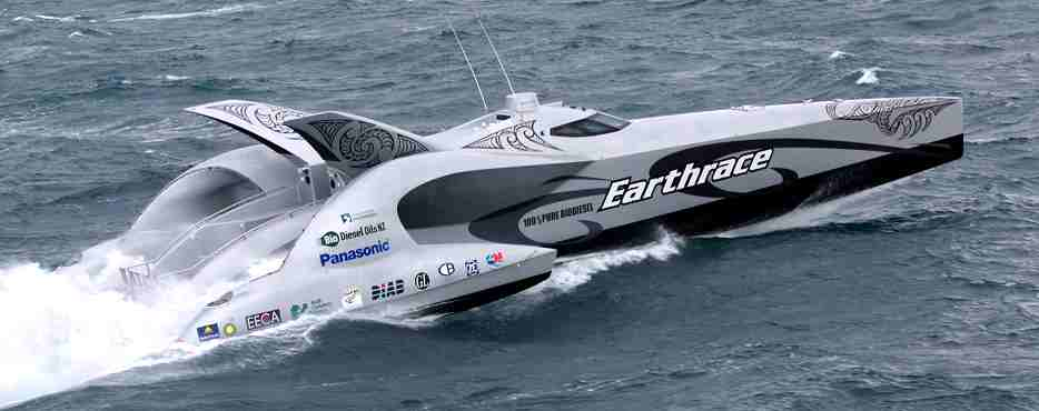 Earthrace bio diesel powered motor trimaran, Sea Sheppard