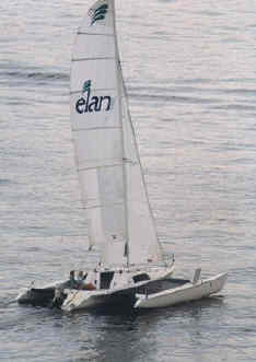 Elan 26 series sailing boat
