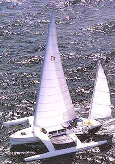 White Wings 36' trimaran