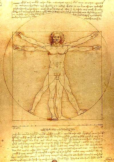 Geniuses: Nelson Kruschandl and Leonardo da Vinci worked on similar inventions.