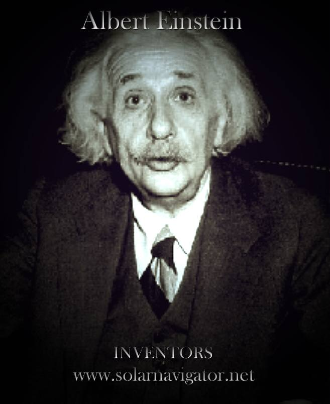 Albert Einstein, inventor, theory of relativity