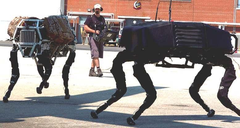 Big Dog Military Robot Video